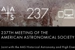 237 American Astronomical Conference