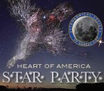 Heart of America Star Party Logo