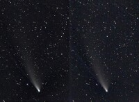 Comet NEOWISE Stereo Pair July 25, 2020